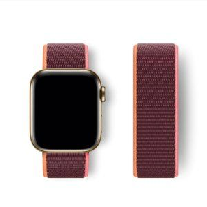 NEW BAND Plum Strap Loop For Apple Watch